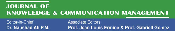 Journal of Knowledge & Communication Management
